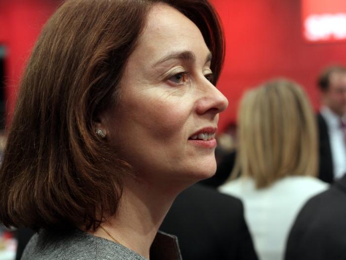 SPD wählt Barley zur Europawahl Spitzenkandidatin - SPD wählt Barley zur Europawahl-Spitzenkandidatin
