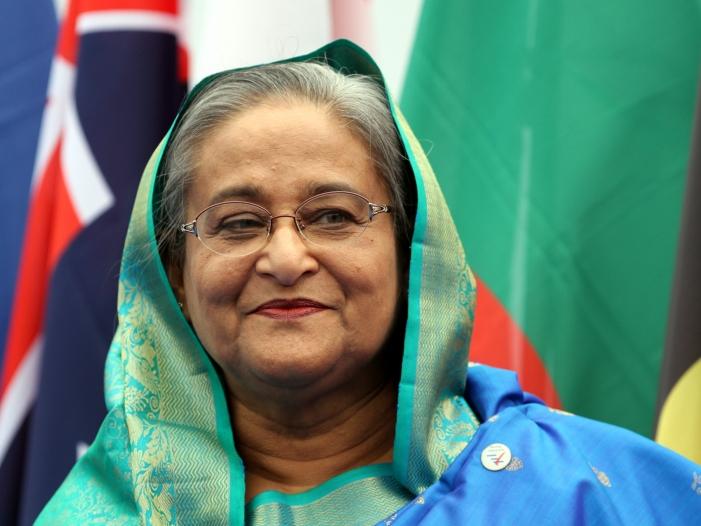 Wahl in Bangladesch Regierungschefin bleibt an der Macht - Wahl in Bangladesch: Regierungschefin bleibt an der Macht