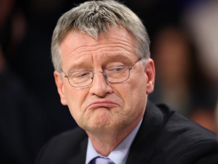 AfD Chef Meuthen fuerchtet keine Konkurrenz durch Poggenburg Partei - AfD-Chef Meuthen fürchtet keine Konkurrenz durch Poggenburg-Partei