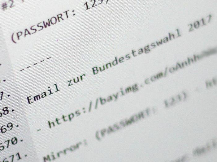 Datendiebstahl Domscheit Berg kritisiert BSI Chef - Daten-Dieb kaufte Zugangsdaten im Darknet