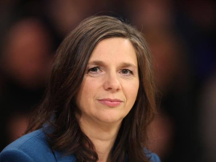 """Göring Eckardt verzichtet auf weitere Spitzenkandidatur - Göring-Eckardt kritisiert """"Gelbwesten"""""""