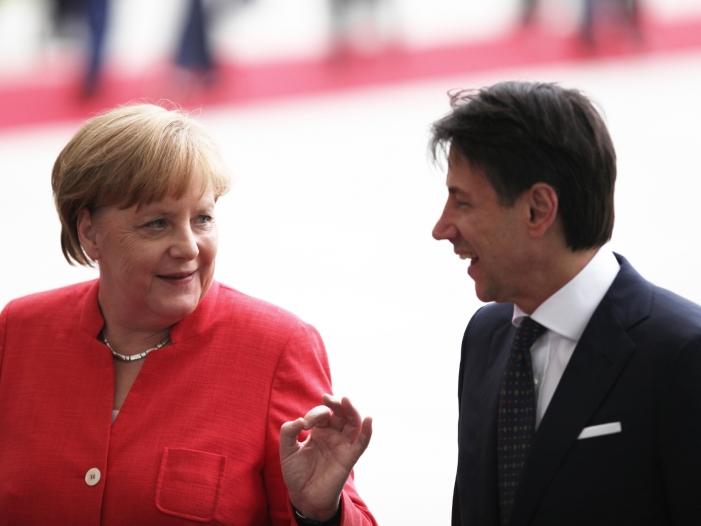 "Italienischer Ministerpräsident: ""Merkel kann man vertrauen"""