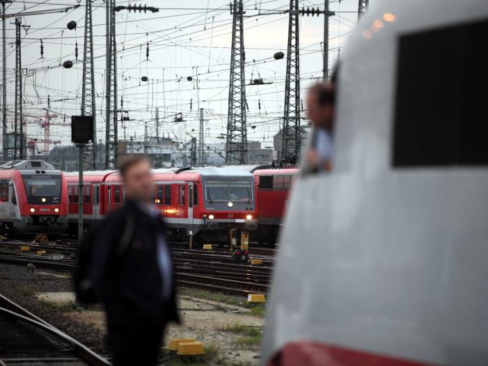 Bahn-Konzern fehlen 733 Lokführer