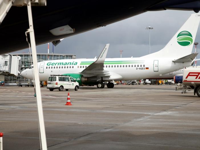 Fluggesellschaft Germania beantragt Insolvenz - Fluggesellschaft Germania beantragt Insolvenz