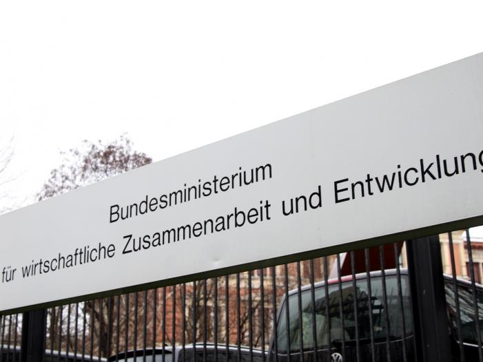 Bild von Müller: Entwicklungshilfe nicht zu eng mit Migration verknüpfen