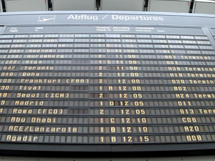 Photo of 4,2 Prozent mehr Passagiere 2018 von deutschen Flughäfen gestartet