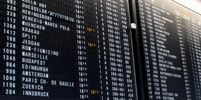 Anzeige Flughafen 660x330 - Chaos am Himmel: Flugverspätungen gehören zum Alltag