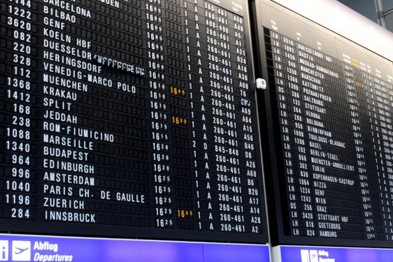 Bild von Chaos am Himmel: Flugverspätungen gehören zum Alltag