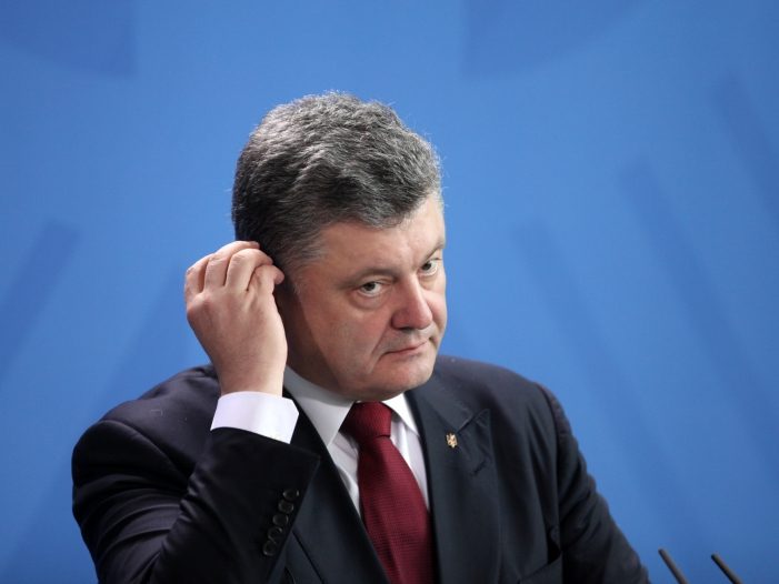 "Maas würdigt ""große Verdienste"" Poroschenkos"