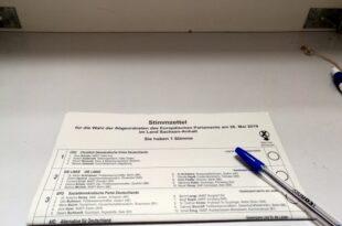 Europawahl in Deutschland hat begonnen 310x205 - Europawahl in Deutschland hat begonnen