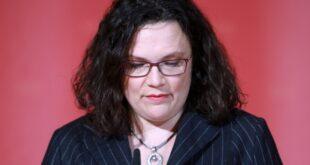 SPD Abgeordnete planen Aufstand gegen Andrea Nahles 310x165 - SPD-Abgeordnete planen Aufstand gegen Andrea Nahles