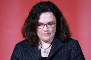 SPD Abgeordnete planen Aufstand gegen Andrea Nahles 310x205 - SPD-Abgeordnete planen Aufstand gegen Andrea Nahles