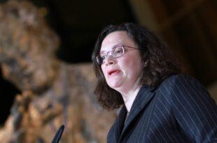 SPD Spitzenpolitiker weisen Spekulationen ueber Nahles Abloesung zurueck 310x205 - SPD-Spitzenpolitiker weisen Spekulationen über Nahles-Ablösung zurück