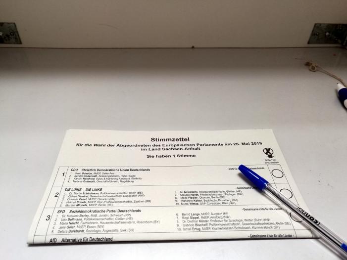 Vorläufiges Endergebnis: Union und SPD stürzen bei Europawahl ab