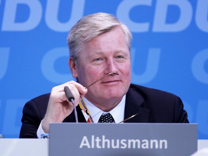 Althusmann warnt CDU vor zu grosser Naehe zu Gruenen - Althusmann warnt CDU vor zu großer Nähe zu Grünen