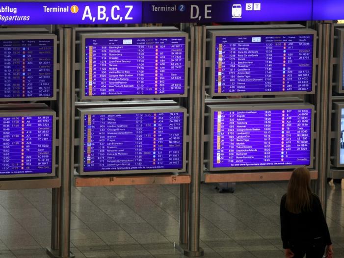 """Flughafenverband sieht Lage angespannt - Flughafenverband sieht Lage """"angespannt"""""""