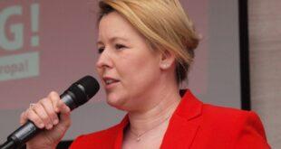 Giffey fordert von kuenftiger SPD Spitze Fokus auf Buergersicherheit 310x165 - Giffey fordert von künftiger SPD-Spitze Fokus auf Bürgersicherheit