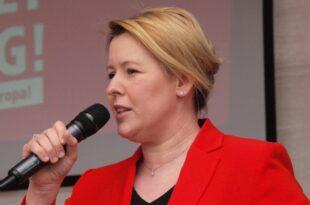 Giffey fordert von kuenftiger SPD Spitze Fokus auf Buergersicherheit 310x205 - Giffey fordert von künftiger SPD-Spitze Fokus auf Bürgersicherheit