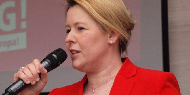 Giffey fordert von kuenftiger SPD Spitze Fokus auf Buergersicherheit 660x330 - Giffey fordert von künftiger SPD-Spitze Fokus auf Bürgersicherheit