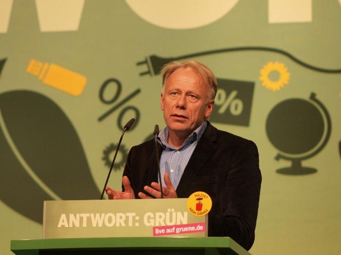 Gruenen Politiker Trittin plaediert fuer Linksbuendnis - Grünen-Politiker Trittin plädiert für Linksbündnis
