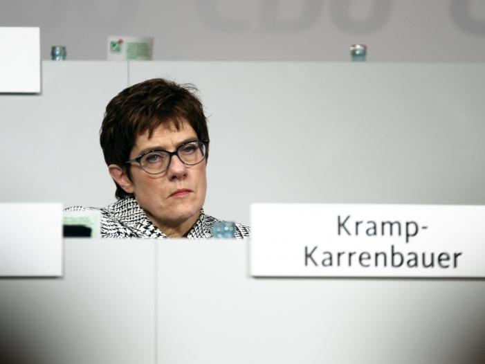 Leipziger CDU kritisiert Kramp Karrenbauers Russlandpolitik - Leipziger CDU kritisiert Kramp-Karrenbauers Russlandpolitik