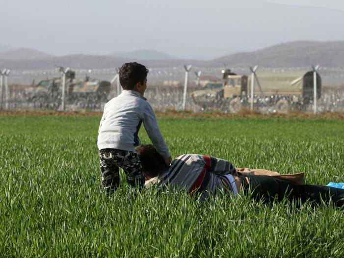 Ueber 70 Millionen Menschen auf der Flucht - Über 70 Millionen Menschen auf der Flucht