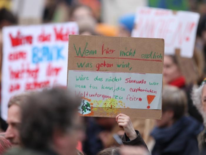 """Bild von """"Fridays für Future"""" will künftig auch Kapitalismus kritisieren"""