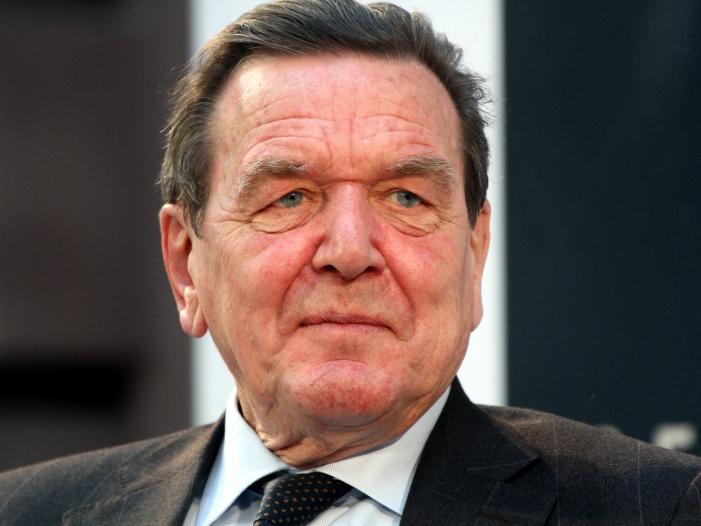 Altkanzler Schroeder kritisiert Klima Debatte - Altkanzler Schröder kritisiert Klima-Debatte