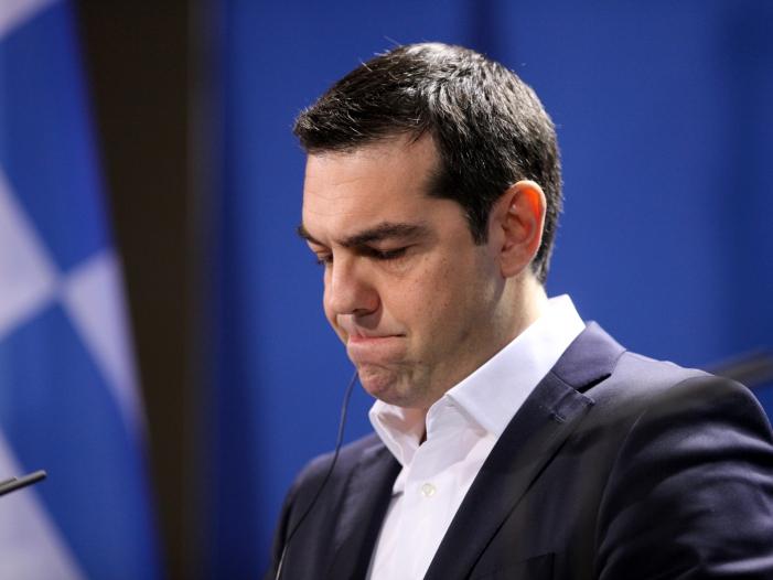 Hochrechnung Niederlage fuer Tsipras bei Griechenland Wahl - Hochrechnung: Niederlage für Tsipras bei Griechenland-Wahl