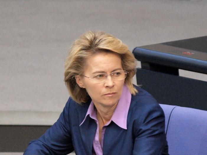 Bild von Mehrere SPD-Oberbürgermeister raten zur Wahl von der Leyens