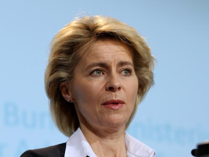 """SPD: von der Leyen kann nur mir """"rechten"""" Stimmen gewählt werden"""