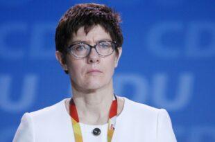 Umfrage Mehrheit spricht AKK Eignung als Verteidigungsministerin ab 310x205 - Umfrage: Mehrheit spricht AKK Eignung als Verteidigungsministerin ab