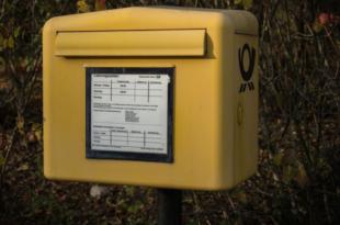 Briefkasten 310x205 - Geschäftspost - 3 Tipps zum Porto sparen