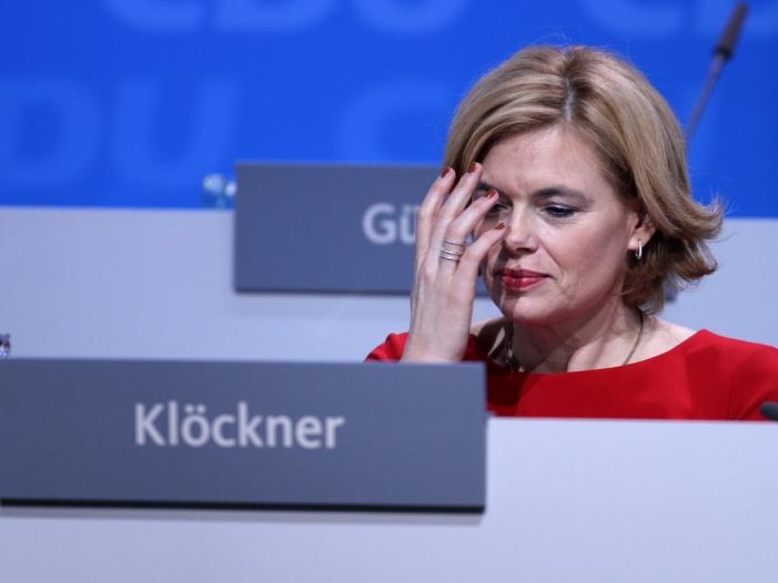 Chef der Agrarministerkonferenz attackiert Kloeckner Plaene - Chef der Agrarministerkonferenz attackiert Klöckner-Pläne
