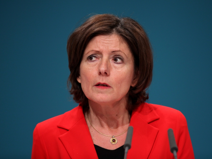 Dreyer lobt Merkels Umgang mit Zitteranfaellen - Dreyer lobt Merkels Umgang mit Zitteranfällen