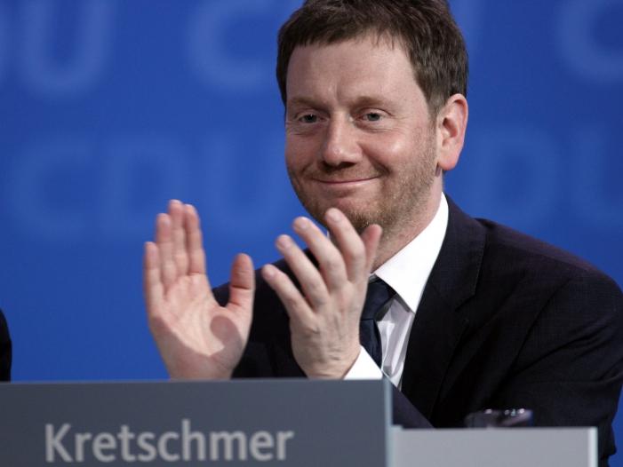 Infratest CDU in Sachsen staerkste Kraft - Infratest: CDU in Sachsen stärkste Kraft