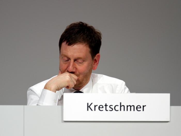 Sachsens Ministerpraesident gegen harte Massnahmen fuer Klimaschutz - Sachsens Ministerpräsident gegen harte Maßnahmen für Klimaschutz