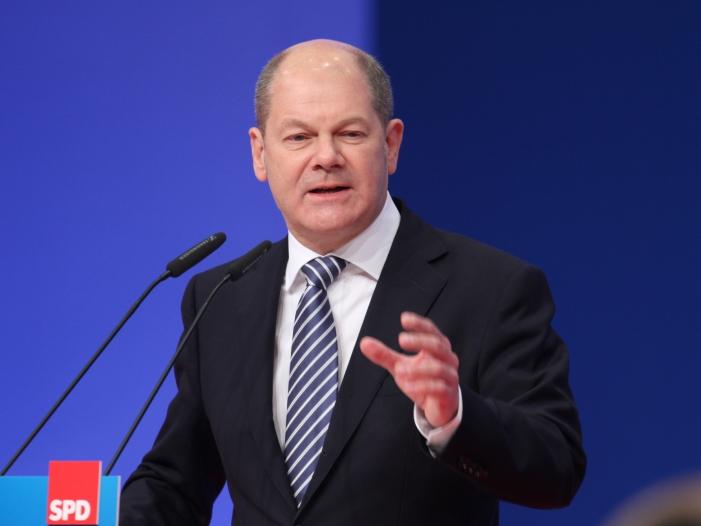 Scholz will SPD Vorsitzender werden - Scholz will SPD-Vorsitzender werden