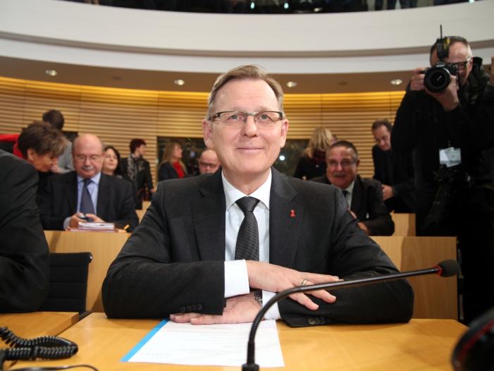 Thueringens Ministerpraesident plaediert fuer Minderheitsregierungen - Thüringens Ministerpräsident plädiert für Minderheitsregierungen