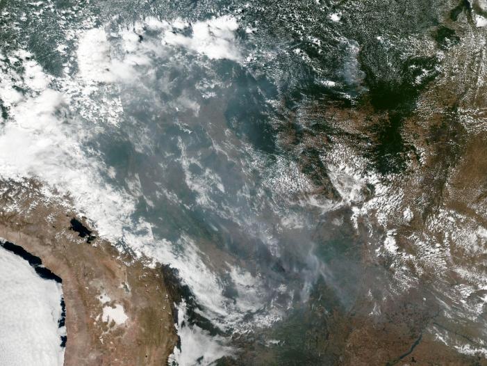 Waldbraende im Amazonas Gebiet G7 Staaten bieten Hilfe an - Waldbrände im Amazonas-Gebiet: G7-Staaten bieten Hilfe an