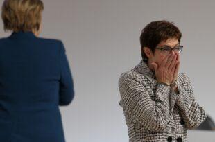 AKK lädt engste CDU Führung zum Treffen ein ohne Merkel 310x205 - AKK lädt engste CDU-Führung zum Treffen ein - ohne Merkel