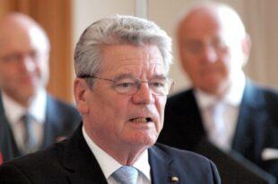 Altbundespräsident Gauck fürchtet Ausgrenzung von AfD Wählern 310x205 - Altbundespräsident Gauck fürchtet Ausgrenzung von AfD-Wählern
