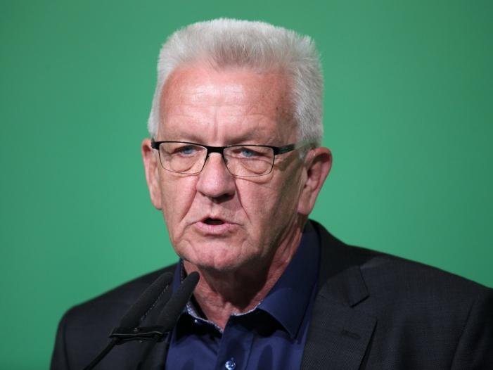 Baden Württemberg Ministerpräsident kandidiert für dritte Amtszeit - Baden-Württemberg Ministerpräsident kandidiert für dritte Amtszeit