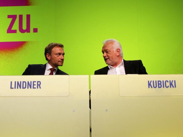 Emnid FDP und AfD legen zu - Emnid: FDP und AfD legen zu