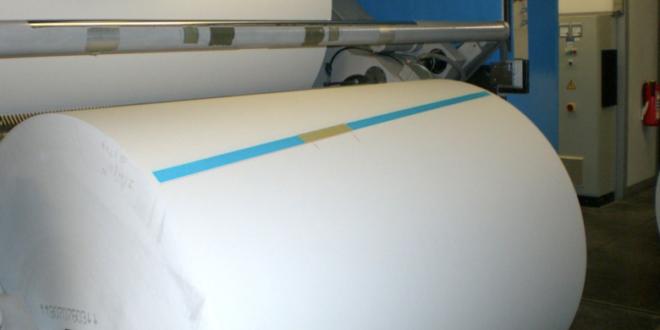 Papierrolle 660x330 - Die Zellstoffindustrie wächst - auch dank Umwelttechnologie
