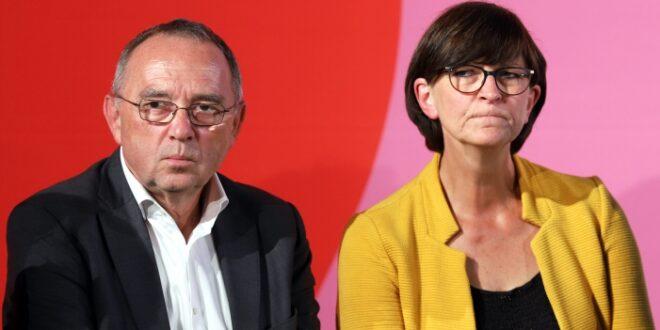 Walter Borjans und Esken gegen höhere Verteidigungsausgaben 660x330 - Walter-Borjans und Esken gegen höhere Verteidigungsausgaben