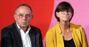 Walter Borjans und Esken wollen 500 Milliarden Investitionsprogramm 310x165 - Esken und Walter-Borjans knüpfen GroKo-Zukunft an Milliarden-Paket