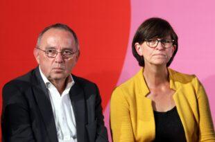 Walter Borjans und Esken wollen 500 Milliarden Investitionsprogramm 310x205 - Walter-Borjans und Esken wollen 500-Milliarden-Investitionsprogramm