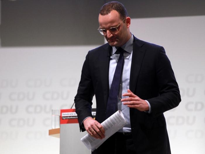 Bild von Arbeitgeber kritisieren Gesundheitsminister
