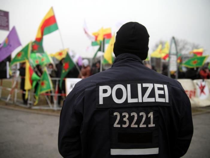 Bild von Ausschreitungen in Herne: Kurdische Gemeinde ruft zur Mäßigung auf